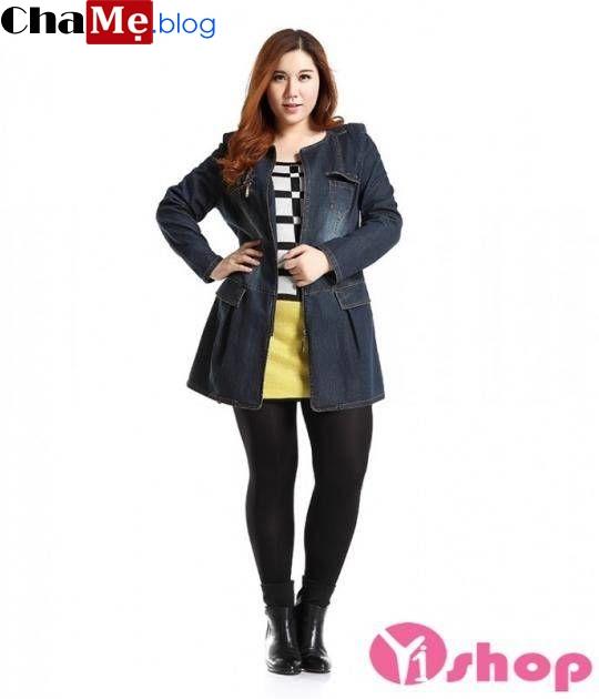 Mách bạn chọn áo khoác nữ công sở đẹp cho nàng mập mạp đông 2021 - 2022