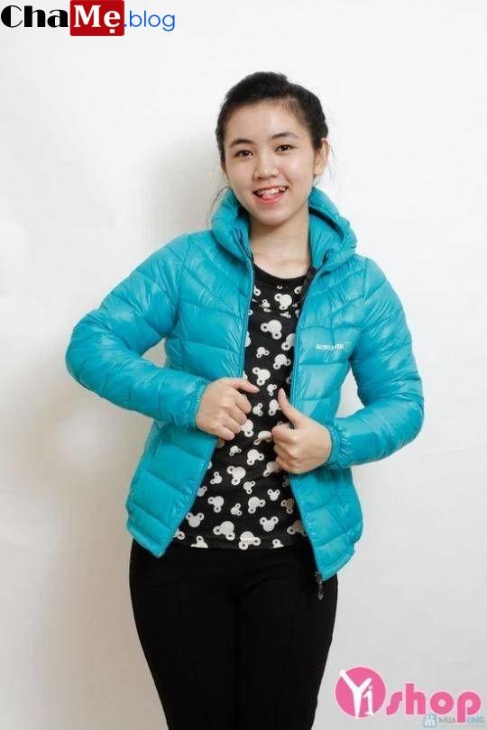 Mẫu áo khoác phao nữ sài gòn tphcm hoodie đẹp thu đông 2021 -2021 thời trang dạo phố