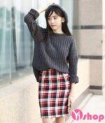 Mẫu áo len nữ Hàn Quốc đẹp cho nàng tự tin cá tính nhất thu đông 2021 – 2022