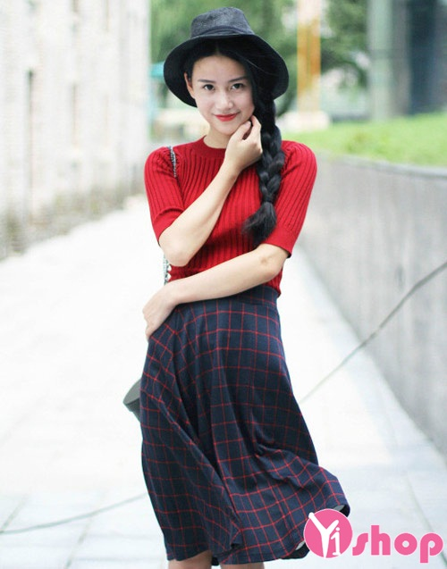 Mẫu áo len nữ Hàn Quốc đẹp cho nàng tự tin cá tính nhất thu đông 2019