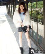 Mix áo khoác lông nữ đẹp hợp xu hướng thời trang thu đông 2021 – 2022