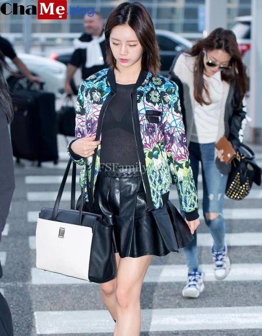 Mix áo khoác nữ bomber jacket đẹp cực chất như sao hàn thu đông 2021 - 2022