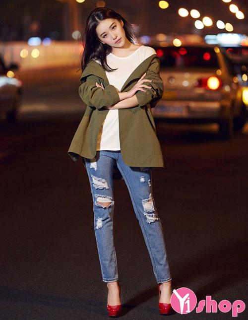 Mix áo khoác nữ đẹp nhất thu đông 2019 cho nàng đa phong cách dạo phố