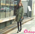 Mix áo khoác phao nữ đẹp thu đông 2021 – 2022 sành điệu không lạnh