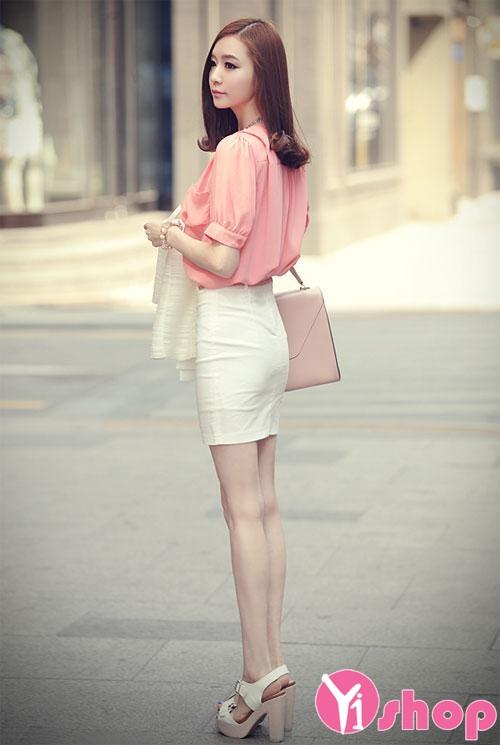 Mix áo sơ mi nữ công sở đẹp sành điệu cả tuần đi làm hè 2021 - 2022