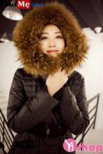 Mới ra mắt áo khoác phao nữ sài gòn tphcm dáng dài cổ lông hàn quốc đẹp thu đông 2021 – 2022