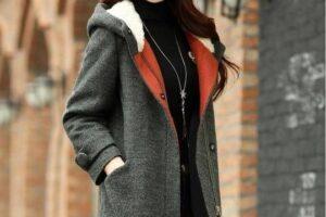 Mốt áo khoác dạ nữ sài gòn tphcm công sở đẹp cực ấm thu đông 2021 – 2022 đang rất thịnh hành