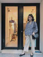 Mua áo sơ mi nữ công sở tại những địa chỉ mua áo sơ mi nữ công sở phong cách trẻ trung thanh lịch