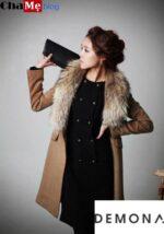 Muôn kiểu áo khoác dạ nữ sài gòn tphcm hàn quốc đẹp ấm áp của sao kpop đông 2021 – 2022