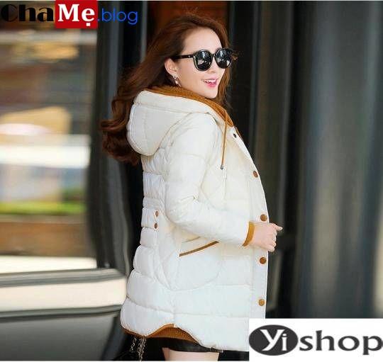 Muôn kiểu áo khoác phao nữ sài gòn tphcm dáng dài đẹp cho nàng thanh mảnh đông 2021 - 2022
