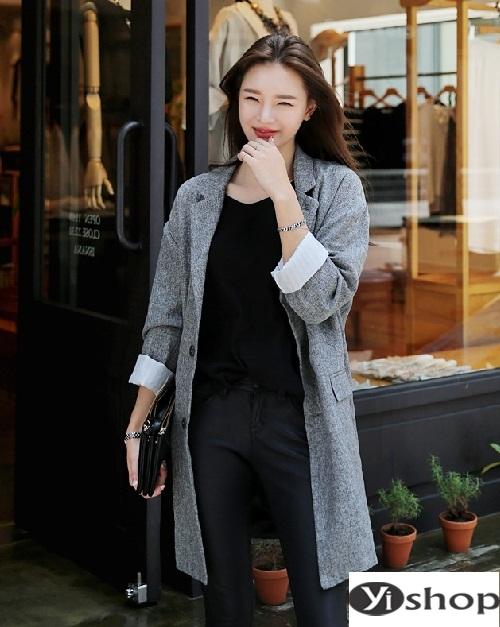Muôn vẻ áo khoác nữ blazer đẹp cho nàng công sở diện ấm đầu đông 2021 - 2022 phần 10