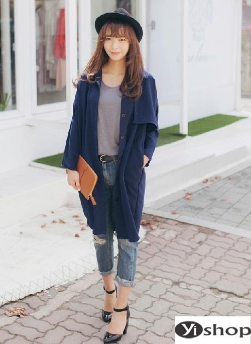 Muôn vẻ áo khoác nữ blazer đẹp cho nàng công sở diện ấm đầu đông 2021 - 2022 phần 7