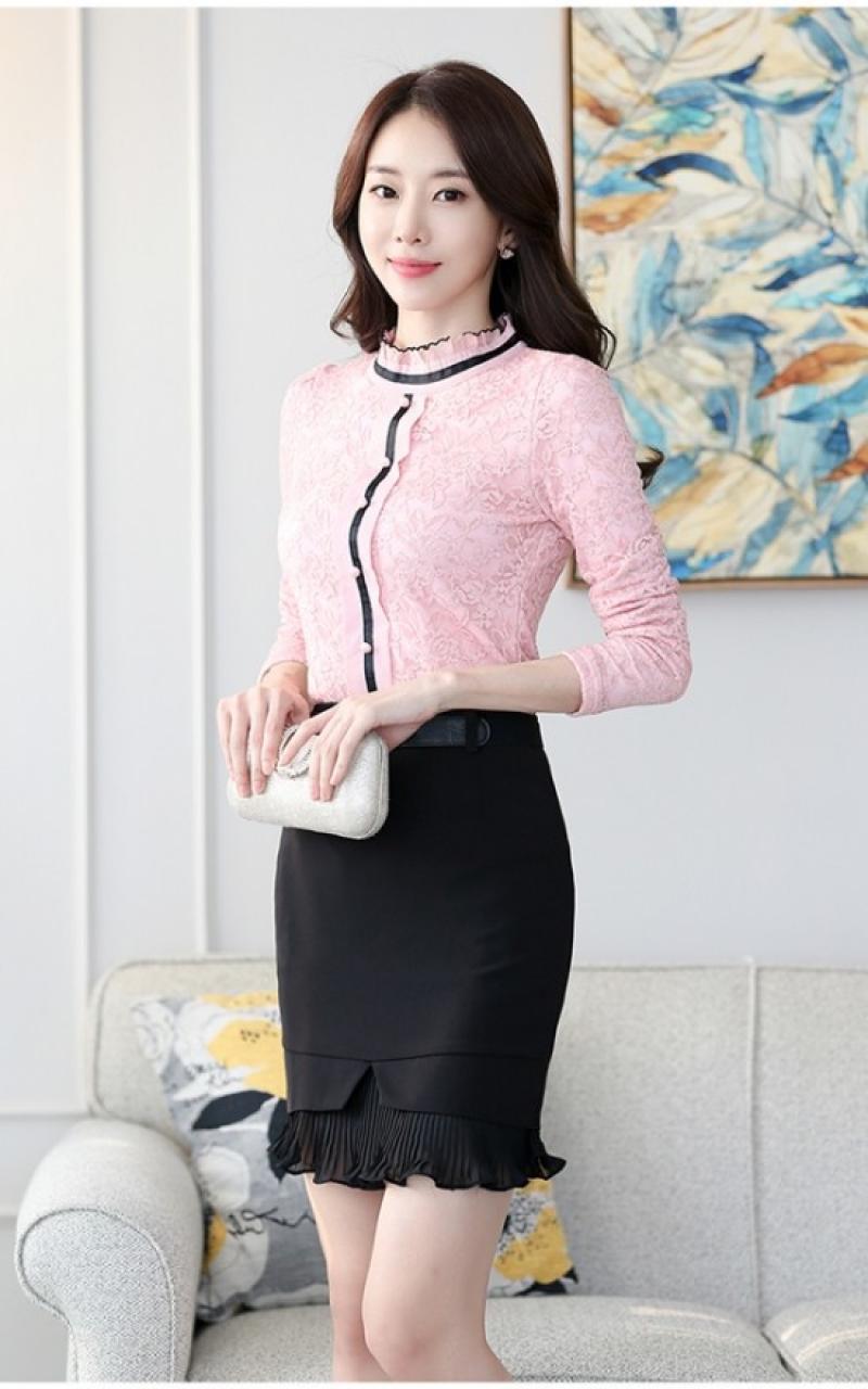 Ngắm áo sơ mi mùa thu đẹp và những kiểu áo sơ mi mùa thu cao cổ đẹp cho cô nàng công sở
