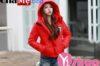 Ngày lạnh đại hàn diện áo khoác phao nữ sài gòn tphcm màu đỏ đẹp cực nổi thu đông 2021 – 2022
