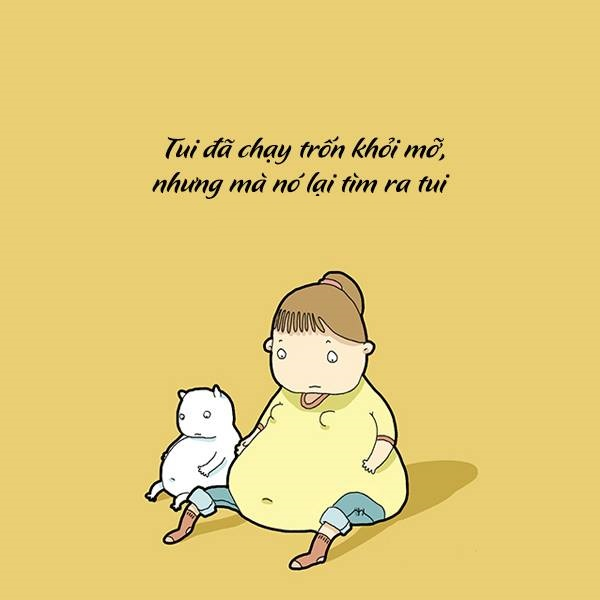Những câu nói hài hước & Stt hay về người con gái béo ú mũm mĩm