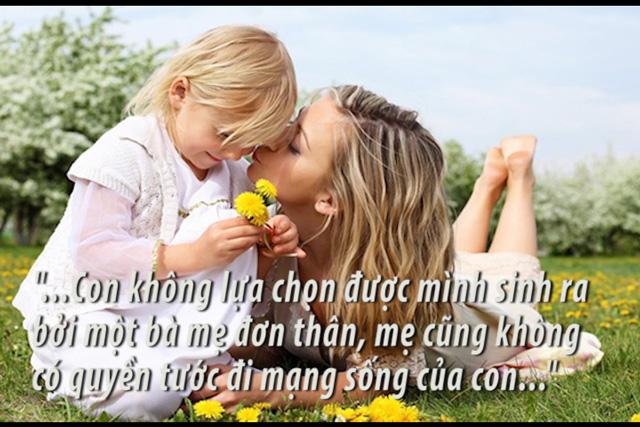 Những câu nói stt hay về mẹ đơn thân ý nghĩa và sâu sắc nhất