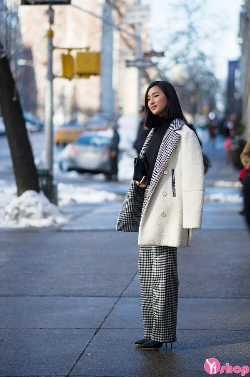 Những kiểu áo khoác dạ nữ đẹp sành điệu thu đông 2019 ấm áp không lạnh