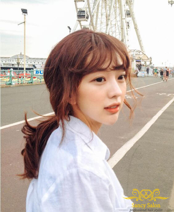 Những kiểu tóc đẹp dành cho nàng trán cao, không thể bỏ lỡ trong mùa hè năm nay