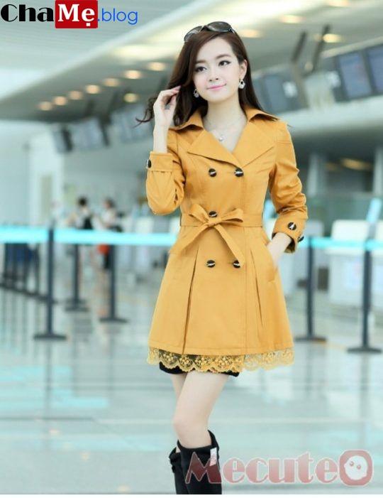Những mẫu áo khoác nữ đẹp giá rẻ tại Hà Nội bạn gái nên biết