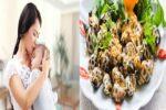 Sau sinh bao lâu được ăn ốc? Lưu ý khi chế biến món ốc tại nhà cho mẹ sau sinh là gì?