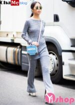 Set đồ len nữ đẹp độc đáo cho mùa thu đông 2021 – 2022 diện ấm áp không lạnh