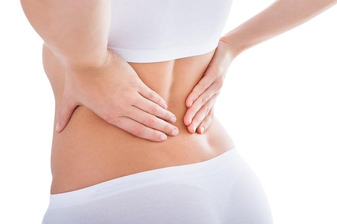 sinh mổ bị đau lưng