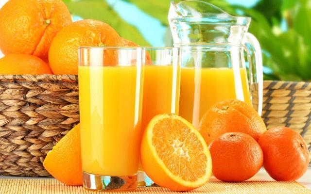 Tác dụng của nước cam đối với bà bầu?