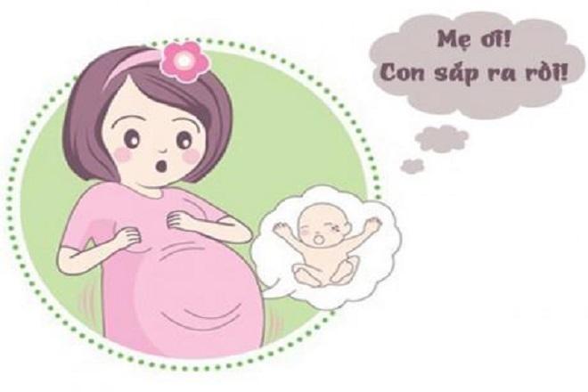 thai phụ đau đẻ trên đường