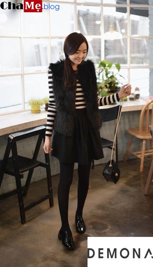 Thay đổi phong cách với áo khoác nữ lông thú đẹp sang chảnh đông 2021 - 2022