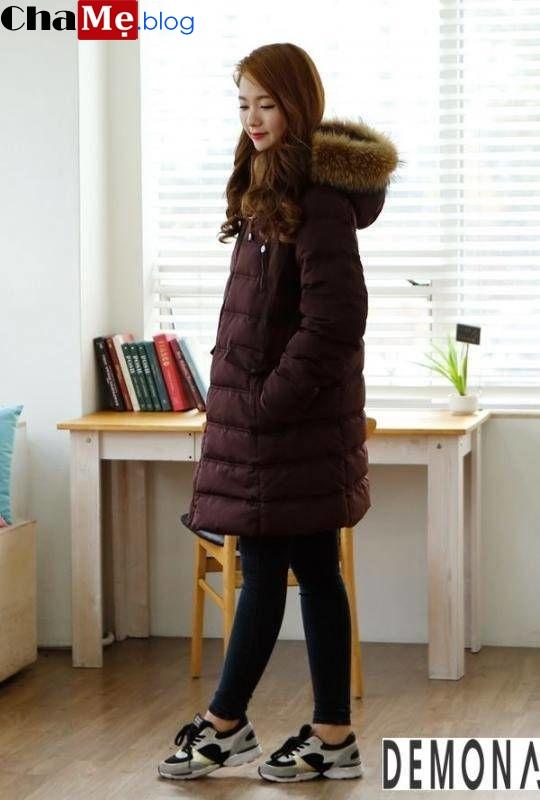 Thiết kế áo khoác phao nữ sài gòn tphcm dáng dài đẹp cuốn hút mọi ánh nhìn đông 2019 – 2019