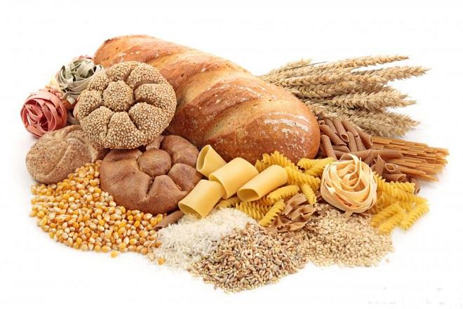 thức ăn chứa tinh bột