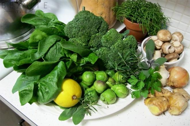 Những thực phẩm có chứa nhiều axit folic