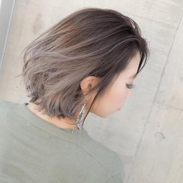 Màu tóc nhuộm nâu lạnh đẹp 2021 đang làm chao đảo giới trẻ hè năm nay