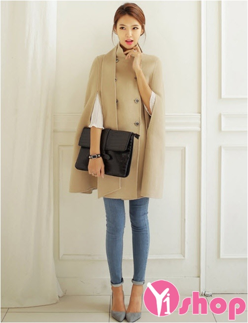 4 kiểu áo khoác nữ Hàn Quốc đẹp siêu hot nhất thu đông 2021 - 2022 không lạnh