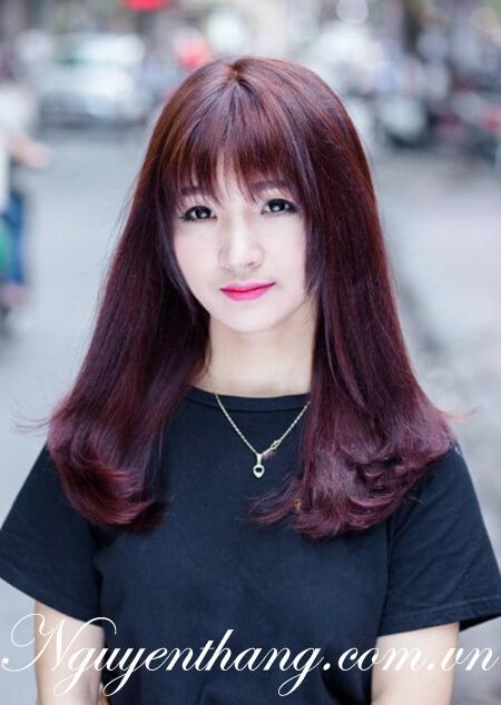 Top 8 màu tóc nhuộm đẹp dành cho các cô nàng da ngăm đen bạn gái nên thử hè 2021