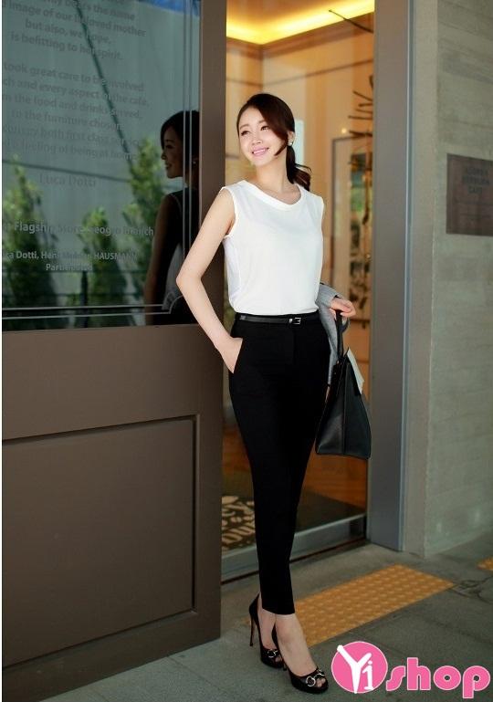 Tổng hợp áo sơ mi nữ màu trắng đẹp đơn giản mà sành điệu hè 2021 - 2022
