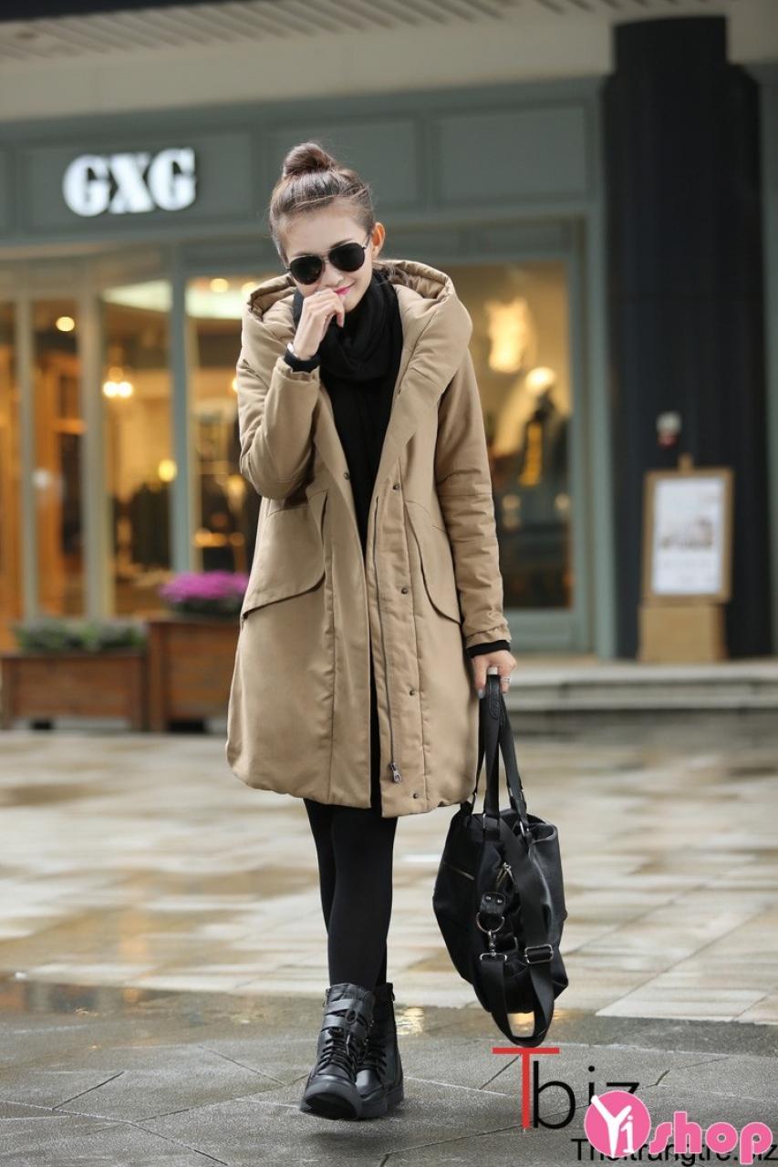 Tổng hợp kiểu áo khoác phao nữ đẹp sành điệu cho bạn gái ấm áp thu đông 2021 - 2022