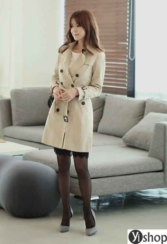 Tổng hợp những kiểu áo khoác nữ đẹp không thể bỏ qua trong mùa thu đông 2021 - 2022 phần 6