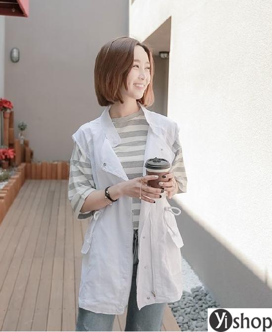 Tổng hợp những kiểu áo khoác nữ đẹp không thể bỏ qua trong mùa thu đông 2021 - 2022 phần 9