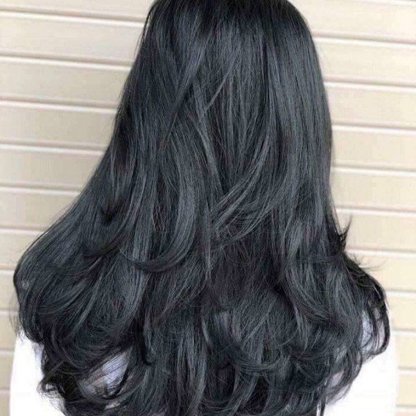 BST 39 kiểu tóc đẹp nhuộm màu than chì đang khiến giới trẻ ưa chuộng nhất hè 2021