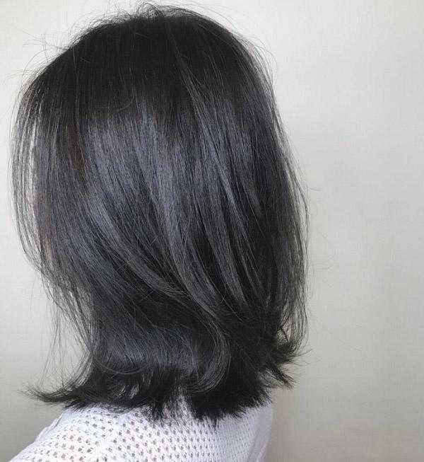 Top 10 màu tóc than chì – Màu tóc đẹp siêu đỉnh được giới trẻ săn đón hiện nay 2021