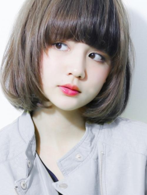 Top 15 kiểu tóc ngắn ngang vai đẹp phù hợp khuôn mặt tròn ưa chuộng nhất 2021