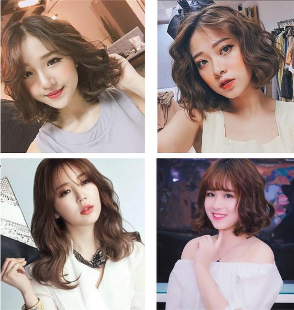 Top 17 kiểu tóc ngắn ngang vai uốn xoăn Hàn Quốc đẹp yêu thích nhất năm 2021