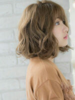 Top 24 kiểu tóc xoăn ngắn đẹp ngang vai Hàn Quốc hè 2021 cho cô nàng dạo phố