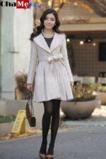 Top 5 kiểu áo khoác dạ nữ sài gòn tphcm Hàn Quốc đẹp được ưa chuộng nhất thu đông 2021 – 2022