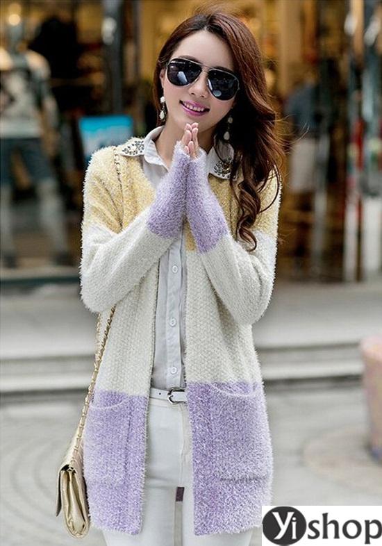 Top 5 kiểu áo khoác nữ đẹp nhất đang làm mưa làm gió hiện nay đông 2021 - 2022 phần 14