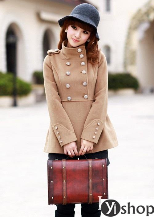 Top 5 kiểu áo khoác nữ đẹp nhất đang làm mưa làm gió hiện nay đông 2021 - 2022 phần 4