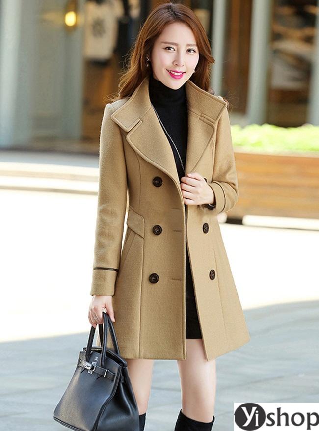 Top 5 kiểu áo khoác nữ đẹp nhất đang làm mưa làm gió hiện nay đông 2021 - 2022 phần 6