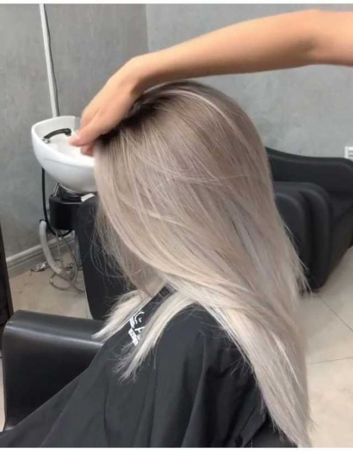 Top 8 màu tóc nhuộm xám đẹp tôn làn da sáng bạn gái hè 2021
