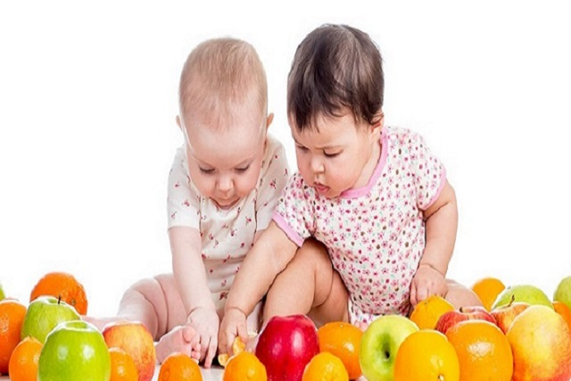 trái cây cho bé 9 tháng tuổi